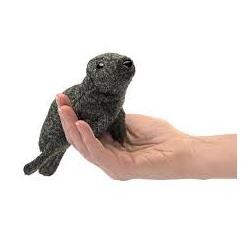 Marionnette à doigt phoque