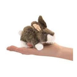 Marionnette à doigt lapin