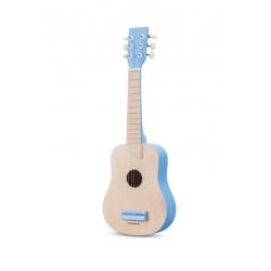 Guitare de luxe blanc et bleu