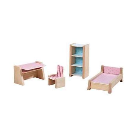 Meubles pour maison de poupée - Chambre d'ado