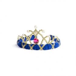 Diadème Velvet Bleu