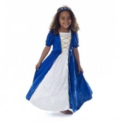 Déguisement Princesse Bleu M