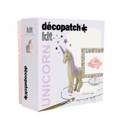 Coffret créatif - Décopatch coffret licorne