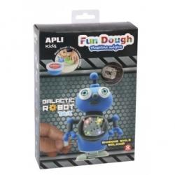 Robot galatic bleu Fun dough