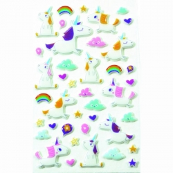 Cooky stickers Licornes