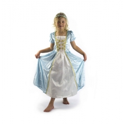 Déguisement Princesse Turquoise L
