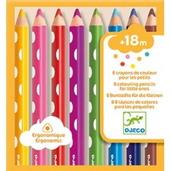 8 crayons pour les petits