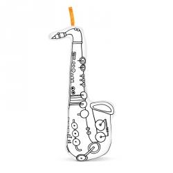 Saxophone à colorier