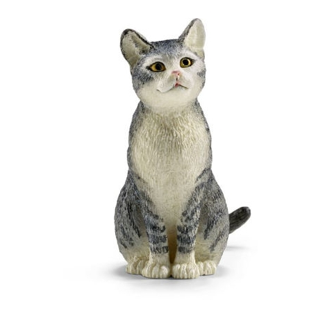 Chat assis Schleich