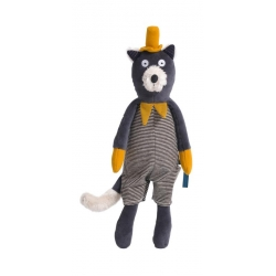 Les Moustaches - Peluche chat Alphonse