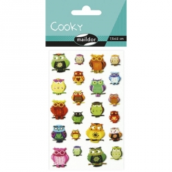 Cooky Stickers Hibou