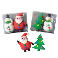 SOLDES -20% Gomme sapin et personnage