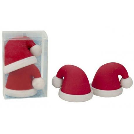 SOLDES -20% Gomme Chapeau Père Noël