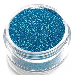 SOLDES -50% Glimmer paillettes turquoise