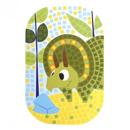 SOLDES -30% Mosaïque Dinosaure