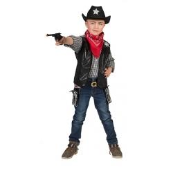 Veste cowboy noire