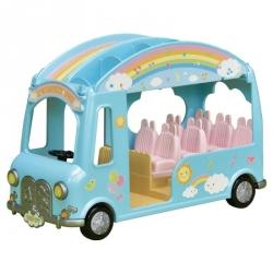 Sylvanian Families - Le bus arc - en - ciel
