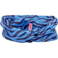 Bandeau tigre bleu