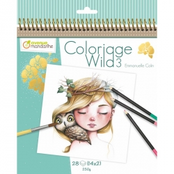 Coloriage Wild 3