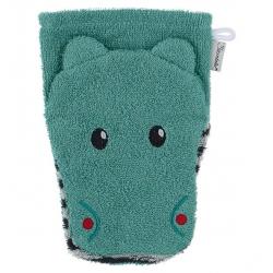 Gant de toilette marionnette Hippopotame