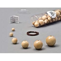 Kit perles Natural 60 pièces