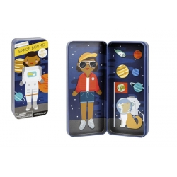 Petit Collage - Boîte magnétique dans l'espace