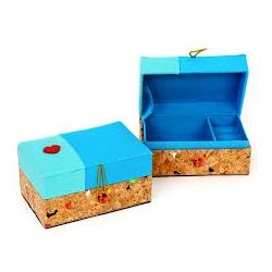 Boîte à bijoux blue mix