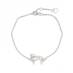 Bijoux origami bracelet cheval