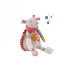 Les Jolis Trop Beaux - Peluche musicale souris