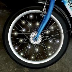 Clips pour rayons de vélo