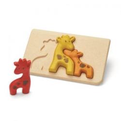 Puzzle 3D girafe