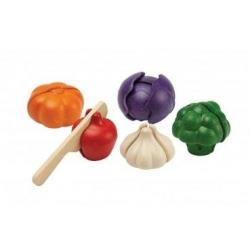 Set de légumes à 5 couleurs