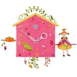 Horloge Alabonneheure -  La princesse aux petits pois