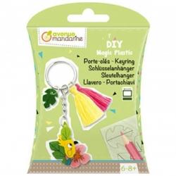 DIY en plastique magique - Porte-clés