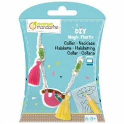 DIY en plastique magique - Collier