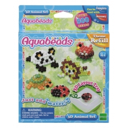 Aquabeads recharge - Animaux 3D