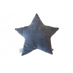 Picca Loulou - Coussin étoile velours gris