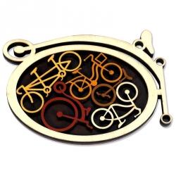 Casse-tête - Le garage à vélos