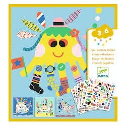 Créer avec des stickers - Marins