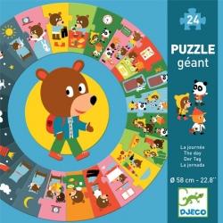 Puzzle géant - La journée