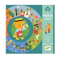Puzzle géant - L'année