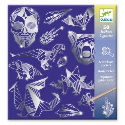 Stickers à gratter - Iron