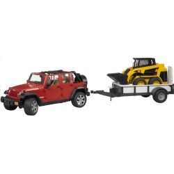 jeep avec remorque