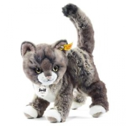 Chat gris Kitty 25 cm