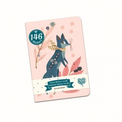 Carnet de stickers - Lucille