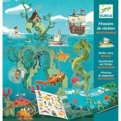 Histoire de stickers - Aventure en mer