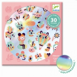 Stickers iridescent - Lovely rainbow