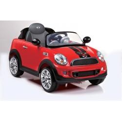 Voiture électrique 12V RC Mini Cooper S rouge