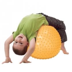 Ballon de motricité jaune 45 cm