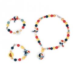 Bonbonnière de perles en bois - Toucan